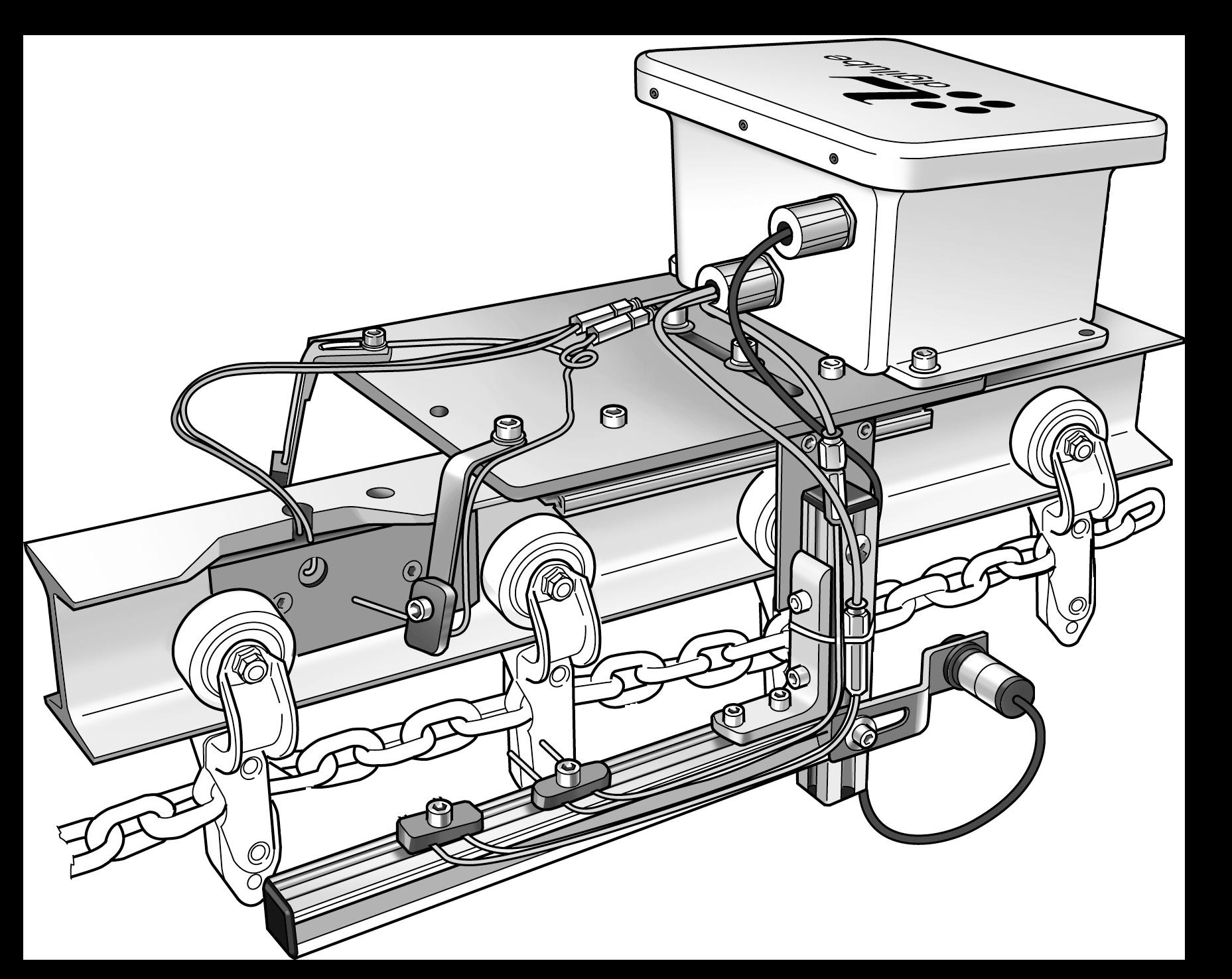Logging Chain Lubricator
