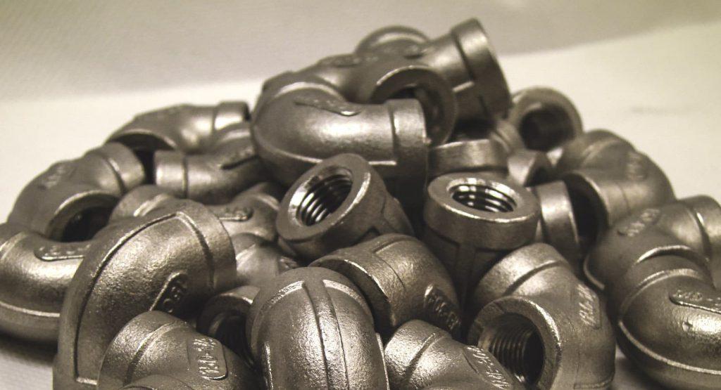 pile of elbow black pipe