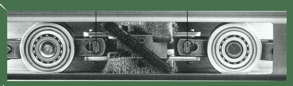 Enclosed Track Brush Cleaner - Unibilt & Webb